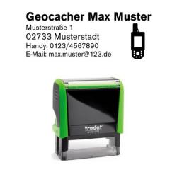 Trodat Printy 4913 Geocachingstempel Motiv GPS-Gerät