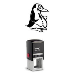 Printy 4923 Tauchstempel 11 Taucherstempel Motiv Pinguin