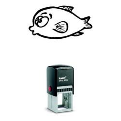Printy 4924 Tauchstempel 18 Taucherstempel Motiv Fisch
