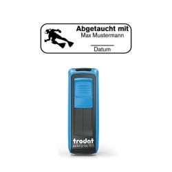 Mobile Printy 9411 Tauchstempel 72 Taucherstempel Taucher eckig